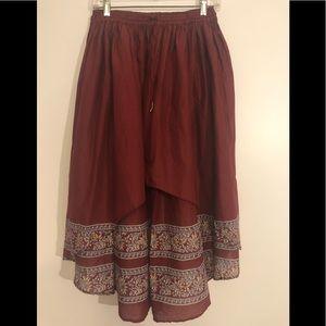 Free People Hi-low Skirt